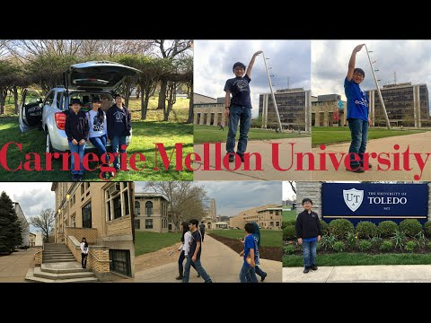 Trip To Chicago For Aiman & Hizami MathCON: P2 - Visit To Carnegie Mellon & The University Of Toledo
