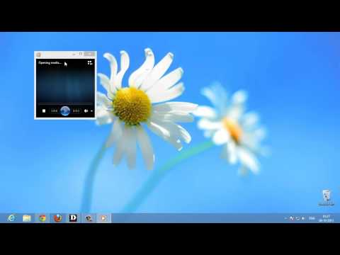 How To Play  Any  Type Of Video/Audio File In Windows Media Player ( Windows 8)
