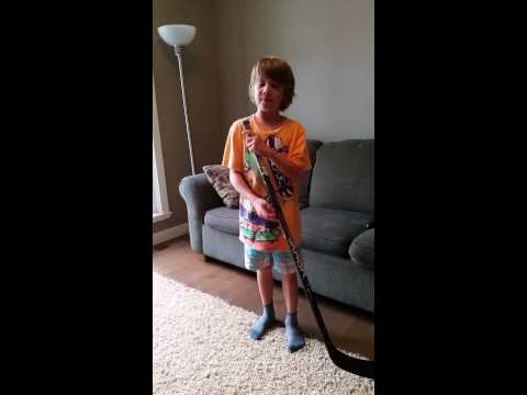 How To Measure Youth Hockey Stick
