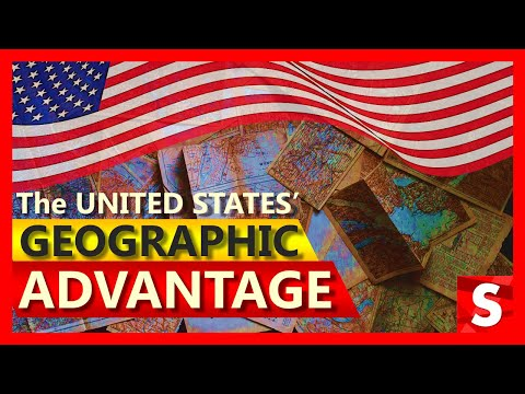 The United States' Geographic Advantage And How Geography Helped The US Become A Superpower