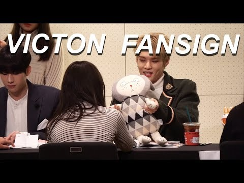 VICTON 빅톤 FANSIGN EXPERIENCE #8  (I SING TO A MEMBER)