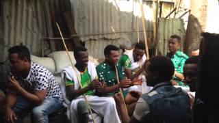 Timket celebration at Piassa, Addis Ababa