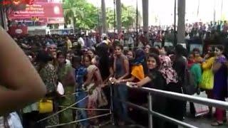 Baahubali Advance Booking Hungama @ Prasads Imax