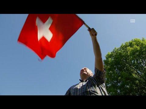 «Un air de drapeaux» ou le lancer de drapeaux, un rituel bien helvètique