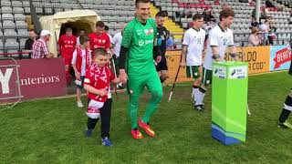 Poland - Ireland amputee football tournament