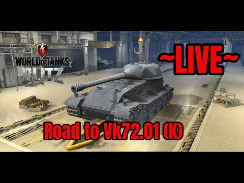[LIVE] Road To VK72.01 (K) - World of Tanks Blitz thumbnail