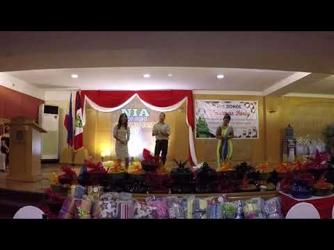 CHRISTMAS PRESENTATION 2017   THE TRIOS ON THE MOVES SIQUIJOR OFFICE