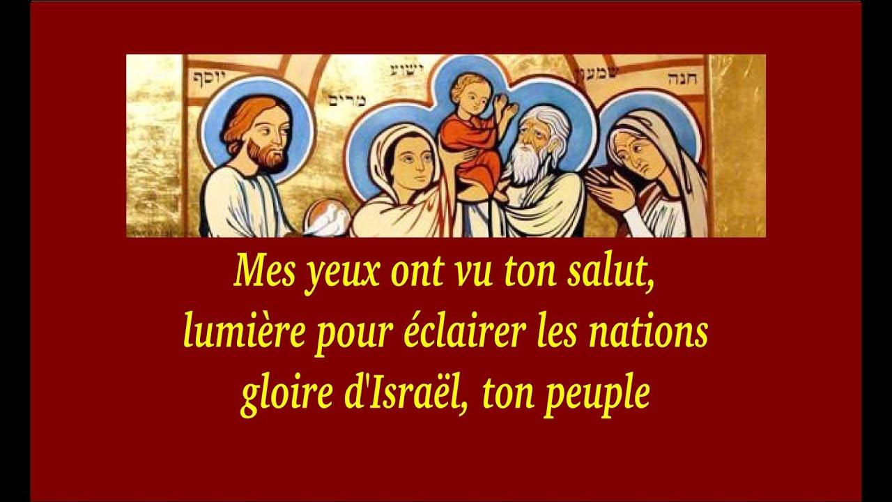 Dimanche prochain   2 février 2014 : Présentation de Jésus au Temple