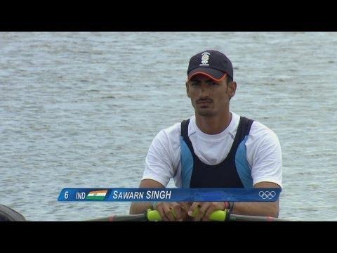 Men's Single Sculls Rowing Heats Replay -- London 2012 Olympics