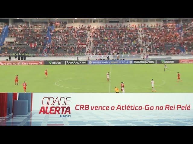 Futebol: CRB vence o Atlético-Go no Rei Pelé