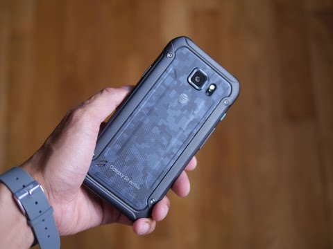 Samsung Galaxy S6 Active unboxing