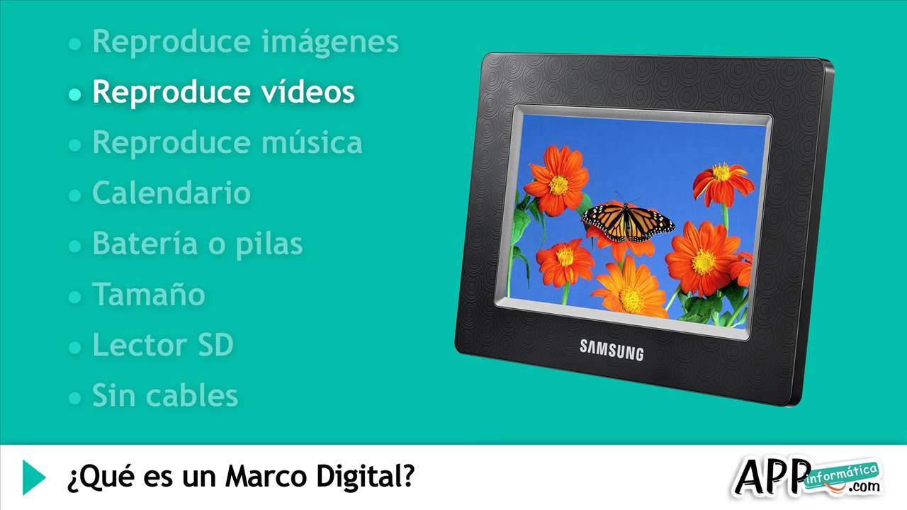 Qué es un Marco Digital? l APPinformatica.com - YouTube