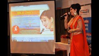 "SANGEETA DHOUNDIYAL Live ""Mi Ghas Katulu"" DUBAI Uttarakhand Hoteliers Get Together"