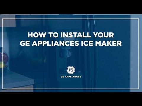 ge refrigerator water hookup kit