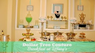 Breakfast at Tiffany's Brunch: Bridal Shower, Baby Shower, Mother's Day