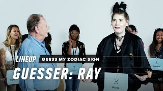 An Astrologer Guesses Strangers' Zodiac Sign (Ray) | Lineup | Cut thumbnail