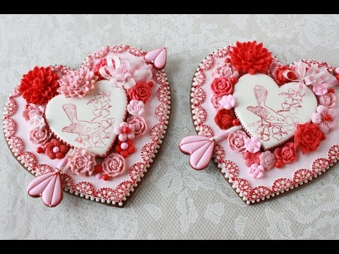 How to Make Embossed Heart Cookies (A Valentine's Day Project)