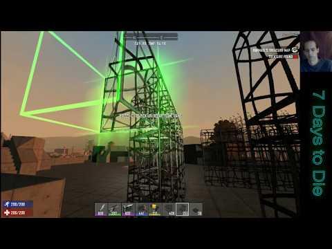 7 Days to Die - Floating Base - Day 98 Horde #29 - Multiplayer Server