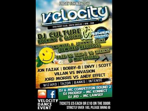 DJ Prodigy Mc Konnect (Comp) @ Velocity 5.5.2017