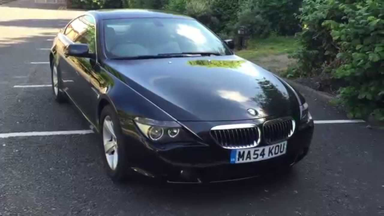 BMW 645ci 2004 coupe look around and brutal acceleration - YouTube