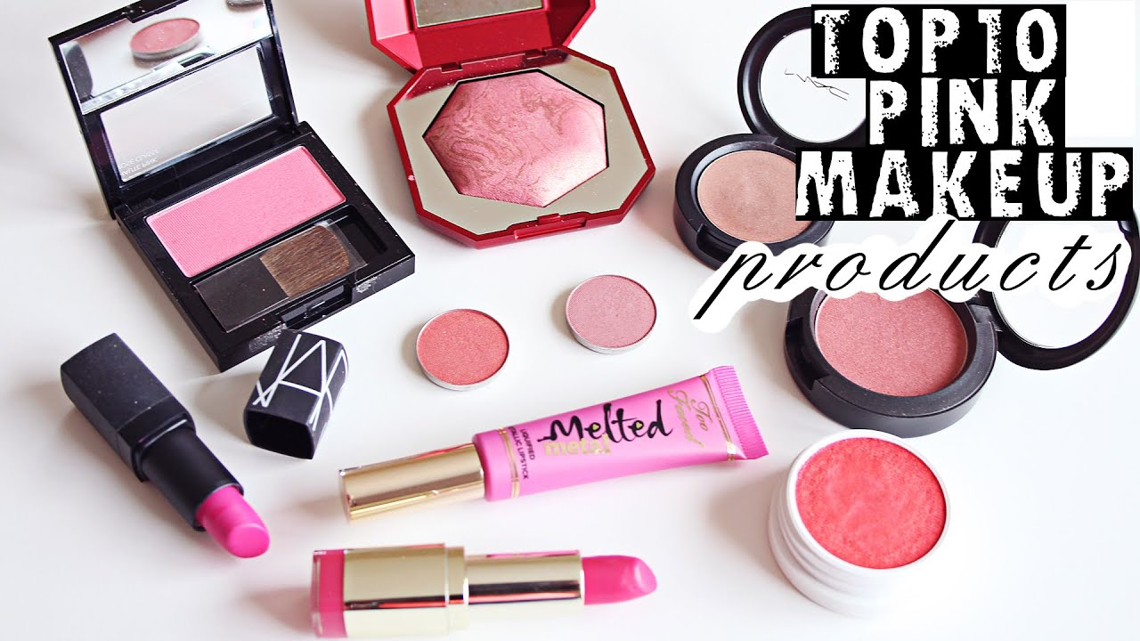 Top 10 Pink Makeup Products Summer 2016