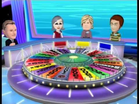 Wii Wheel Of Fortune Celebrity Chefs Week Wednesday Paula Deen