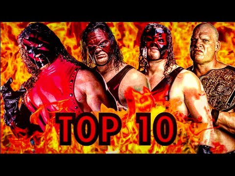 WWE TOP 10 OF KANE FROM WORST TO BEST