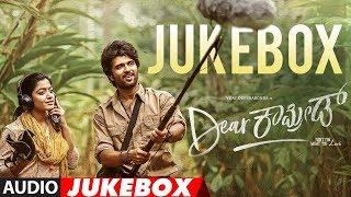 Dear Comrade Kannada Songs Jukebox | Vijay Deverakonda | Rashmika | Justin Prabhakaran |Bharat Kamma