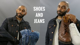 Top 10 Best Shoes To Wear With Jeans/Best Shoes To Wear With Denim