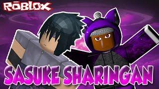 Sasuke Sharingan | Shinobi Life | ROBLOX | iBeMaine
