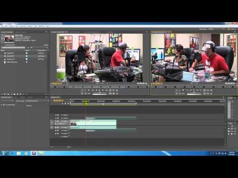 Adobe Premiere Pro Tutorial - 5 - Monitor Panels