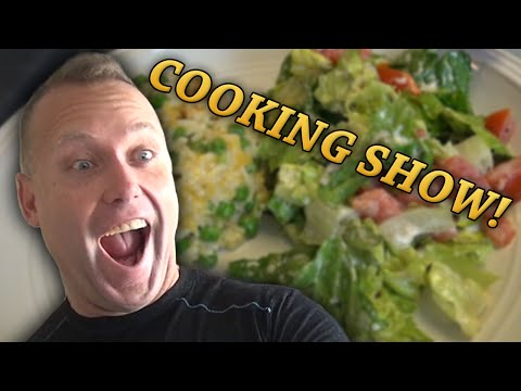 Swifty Inventions & Cooking Show with Mom! - Chicken w/ Rice & Salad