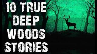 10 TRUE Terrifying Dęep Woods Horror Stories | (Scary Stories)