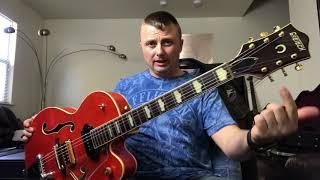 Обзор полуакустических гитар, на примере Gretsch G6120 (видео не серьезное)