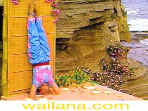 strengthen the lungs with beginners headstand with wall