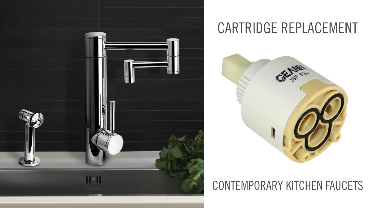 Cartridge Replacement on Contemporary Waterstone Kitchen Faucets ...