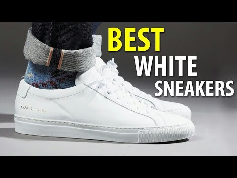 BEST WHITE SNEAKERS 2018 | MEN'S SUMMER SHOES | Alex Costa
