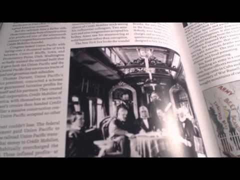 ASMR whisper reading Life Magazine's Scandals in American History: the Credit Mobilier
