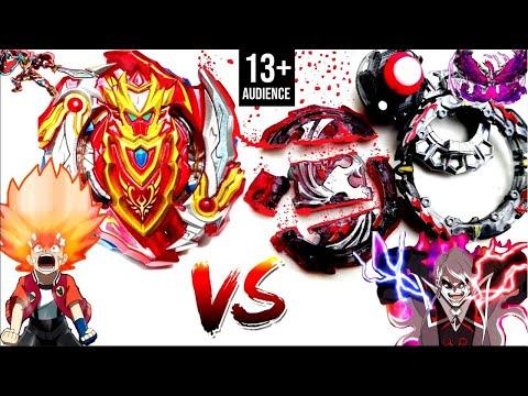 EVIL R.I.P: Dead Phoenix 10.Fr Vs Cho-Z Achilles 00.Dm-Aiga Vs Phi-Beyblade Burst Turbo Z Battle第50話