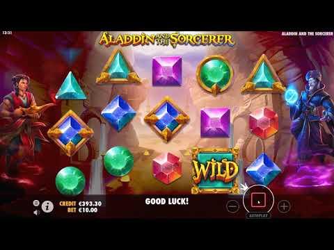 Обзор игрового автомата Aladdin And The Sorcerer (Pragmatic Play)