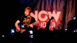 An Evening with Ed Sheeran Dallas, Texas 9/27/12