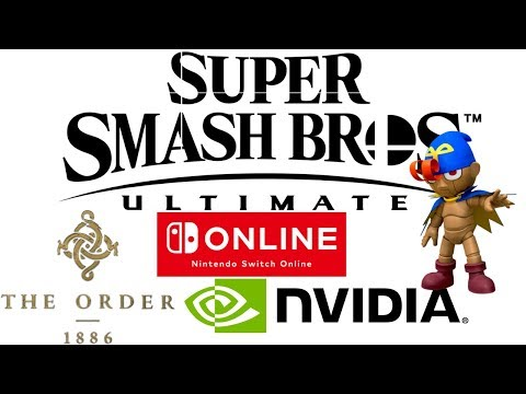 MGN Direct: Smash Ultimate 6 Newcomers | The Order 1886 2 | GeForce RTX 2080Ti & More | Giveaway
