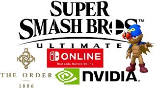 MGN Direct: Smash Ultimate 6 Newcomers   The Order 1886 2   GeForce RTX 2080Ti & More   Giveaway