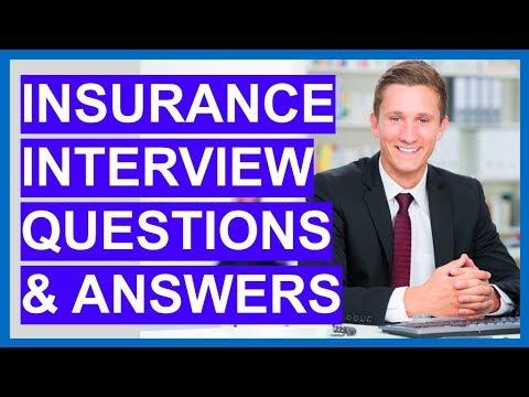 Insurance Broker Interview Questions
