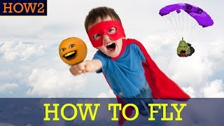 how2 how to fly