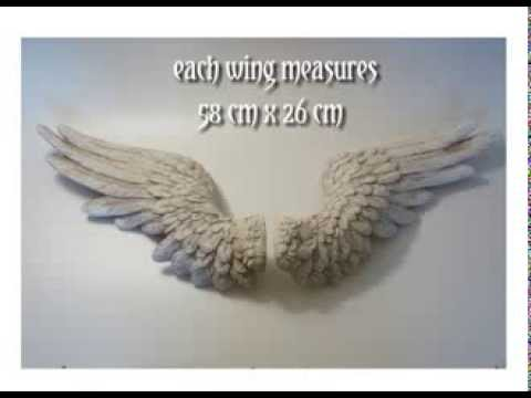Angel Wings Wall Plaque Available At My Chic Home Youtube