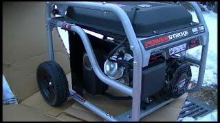Video ridgid 6800 generator with yamaha motor review for Ridgid 6800 watt generator with yamaha engine