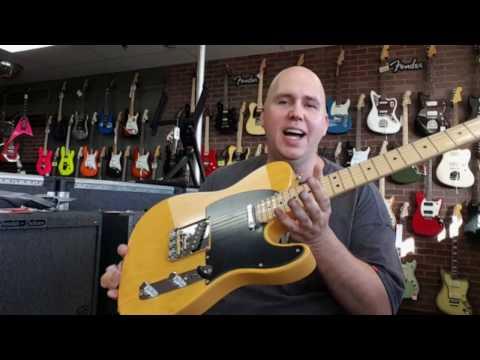 The 2017 Fender American Professional Tele