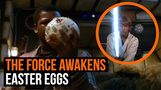 Star Wars The Force Awakens: 10 Best Easter Eggs