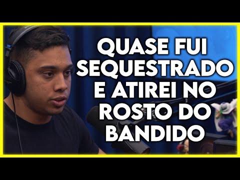 COMO É SER UM POLÍCIAL NO RIO DE JANEIRO 💀 (GABRIEL MONTEIRO)   Cortes Podcast